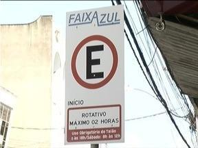 Projeto de estacionamento rotativo será implantado em Ipatinga - Motoristas que vão ao Centro da cidade não conseguem lugar para parar os carros.