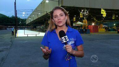 RJTV passa os detalhes da noite de Carnaval em Volta Redonda - Confira os preparativos da Ilha São João, local que concentra a folia na cidade.