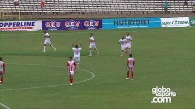 River-PI vence Caiçara com gol de Fabinho e entra no G-4 do Piauiense - River-PI vence Caiçara com gol de Fabinho e entra no G-4 do Piauiense
