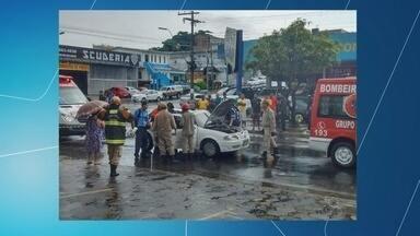 Acidentes deixam dois mortos no bairro Cachoeirinha, em Manaus - Quatro pessoas também ficaram feridas.