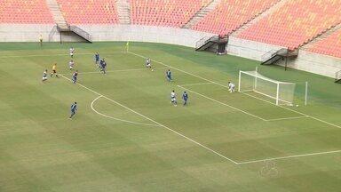 Águia bate Fast por 1 a 0 e larga na frente em preliminar da Copa Verde no AM - Jogo aconteceu na Arena da Amazônia,
