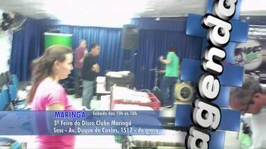 Maringá tem eventos para quem adora discos de vinil - Dois eventos serão realizados na cidade neste sábado.