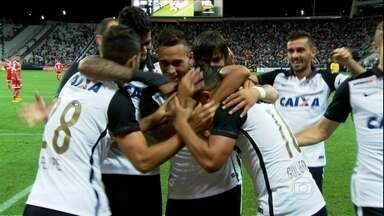 Corinthians vence por 2 a 1 e estreia dos reforços agrada o técnico Tite - Corinthians vence por 2 a 1 e estreia dos reforços agrada o técnico Tite
