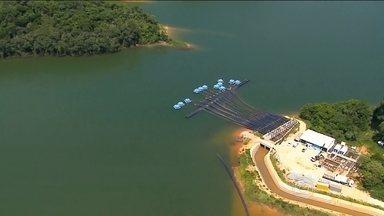 Sistema Cantareira volta a ser o principal produtor de água da região metropolitana - O reservatório está com apenas 18% da capacidade. Só isso pra abastecer quase 6 milhões de pessoas.