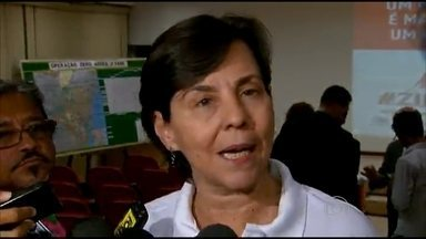 Ministra se reúne com forças amadas no Recife para definir estratégias de combate ao Aedes - Ação vai começar no bairro de Jardim São Paulo, onde foram notificados 41 casos de dengue, 22 de chikungunya e 5 de zika.