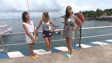 Paula Magalhães reinventa clássicos da moda praia - E para isso ela foi até a ilha de Itaparica para mostrar belos looks