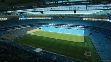 Cara nova: Conheça o novo gramado da arena do Palmeiras - Verdão volta a jogar em casa neste sábado