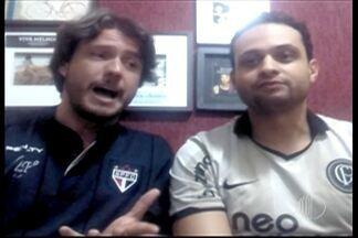 Garotinhos FC falam da expectativa para o clássico entre Corinthians e São Paulo - Os representantes de cada time disseram o que esperam do duelo.
