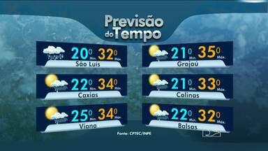 Veja a previsão do tempo para este fim de semana - Veja a previsão do tempo para este fim de semana.