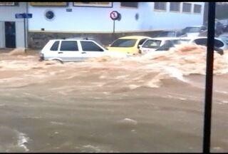 Mulher morre por fortes chuvas em Belo Horizonte - Região Oeste da cidade passou por transtornos.