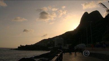 Domingo será de tempo bom no Rio - Mas pode chover na segunda-feira