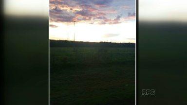 Telespectadores participam do encerramento do Paranátv com o entardecer - Foram enviados vários vídeos e fotos do fim de tarde em várias cidades da região.