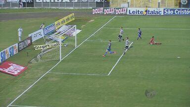 Apesar do primeiro gol no campeonato, XV perde para o Rio claro nesta quarta-feira - Time saiu do0 a 0, mas perdeu em casa por 2 a 1.