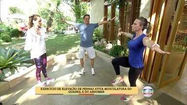 Veja como vencer o sedentarismo em casa - Professora de Educação Física ensina exercícios simples para fazer sozinho