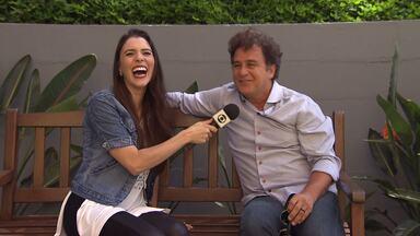 Marcos Frota relembra Tonho da Lua - O ator esteve em Curitib, e relembrou um dos personagens mais famosos da televisão: o Tonho da Lua de 'Mulheres de Areia'.