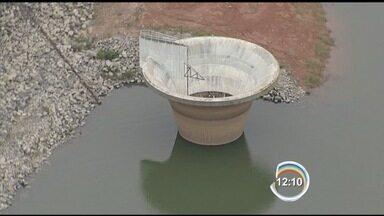 Nível das represas continua a subir - Vancop sobrevoa os reservatórios.