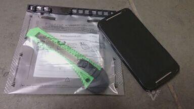 Adolescentes de 12 e 13 anos são apreendidos em São Vicente - Eles foram apreendidos por roubarem um celular na orla da praia.
