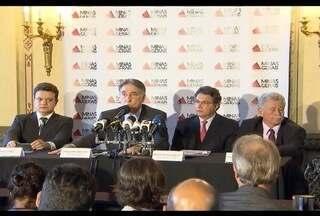 Pimentel anuncia corte no orçamento de Minas de R$ 2 bilhões para 2016 - Segundo o governador do PT, a segurança pública perdeu R$ 360 milhões.