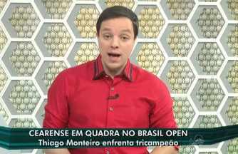 Thiago Monteiro participa do Aberto do Brasil - Veja com Fábio Pizzato