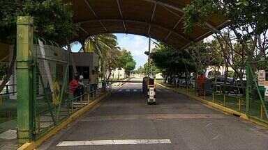 Terceirizados da Petrobras paralisam atividades em Aracaju - Terceirizados da Petrobras paralisam atividades em Aracaju