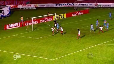 Gol de Branquinho - Passo Fundo 2x1 Lajeadense - 4ª rodada - Assista ao vídeo.