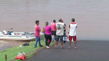 Corpo de adolescente é resgatado no Rio Paraná. - Jovem morreu afogado no último sábado.