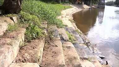Cartão-postal de Balsas, Beira-Rio sofre com falta de estrutura e conservação - A situação piorou depois da enchente que assolou a cidade no mês de janeiro.