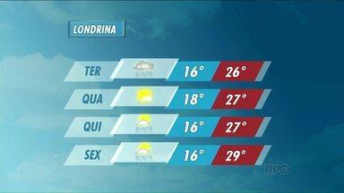 Março deve chegar com chuva e temperaturas amenas na região norte - Veja como fica a previsão do tempo.