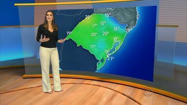 Terça-feira (1) será de sol durante a tarde e noite fresca - Máxima será de 29ºC em Porto Alegre.