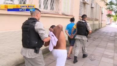 Corpo de cabelereira morta em assalto será enterrado em Restinga Sêca, RS - Assista ao vídeo.