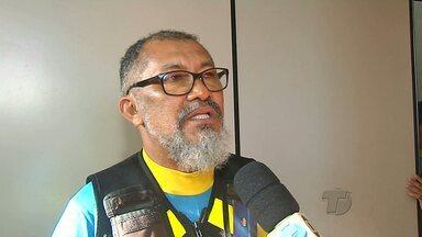 Mototaxistas credenciados pedem providências contra os clandestinos - Sindicato dos mototaxistas credenciados se reuniu com autoridades para achar uma solução.