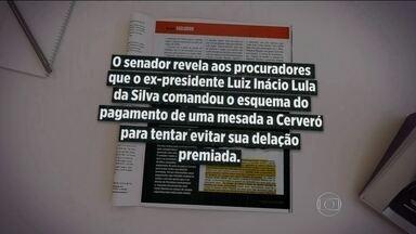 Em delação, Delcídio teria dito que Lula mandou comprar silêncio do Cerveró - Revista IstoÉ trouxe trechos da delação premiada de Delcídio Amaral em que o senador fala sobre o ex-presidente Lula.