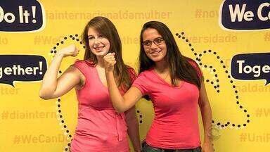 Mulheres respondem sobre o que ainda desejam no Dia Internacional da Mulher - Assista ao vídeo.