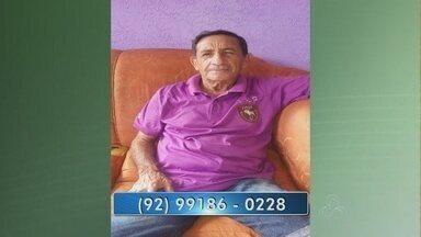 Família procura por homem desaparecido em Manaus - Evilázio Tavares de 67 anos está desaparecido desde esta segunda (7).