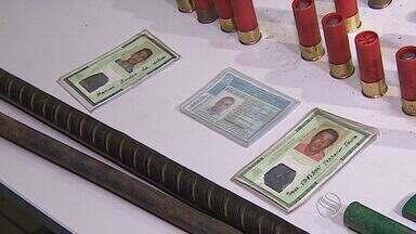 Delegado detalha prisões ligadas a roubo de bancos - Delegado detalha prisões ligadas a roubo de bancos.