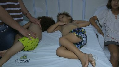Surto de virose preocupa médicos e pais em Campina Grande e região - Surto está atingindo principalmente as crianças.