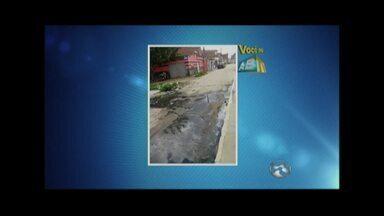 Esgoto estourado e lixo em hospital são problemas mostrados no 'Você no ABTV' - Casos ocorrem em Caruaru e Palmares.