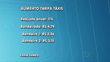 Novo reajuste do taxímetro será cobrado apenas a taxistas que aferiram o equipamento - Gerente de taxis do Inmeq, Juarez Monteiro, esclarece o assunto.
