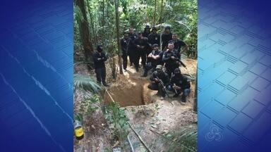 Novo túnel é encontrado em complexo penitenciário no AM - Quatro túneis foram localizados em presídios de Manaus neste ano.