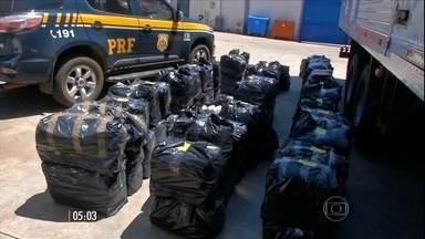 Polícia Federal descobre uma nova rota de contrabando - Desta vez, os produtos são fabricados ilegalmente no Brasil e transportados para fora.