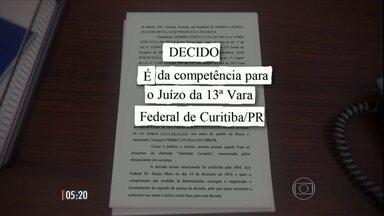 Justiça de SP transferiu para o juiz Sérgio Moro a denúncia contra Lula no caso do triplex - Outras 15 pessoas também estão envolvidas neste processo.