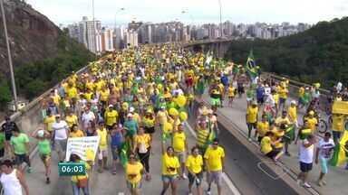 Moradores da Grande Vitória repercutem manifestação contra Dilma - Foi um domingo em que 3 milhões e meio de brasileiros foram às ruas pedir um Brasil melhor.