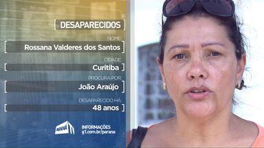 Ajuda estas pessoas a encontrar por parentes desaparecidos - Estes depoimentos foram exibidos durante a programação da RPCTV