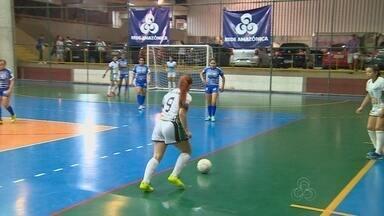 Times disputam as oitavas de final na Copa Rede Amazônica - Partida foi na segunda-feira.