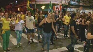 Moradores de Campinas fazem protesto após polêmicas no Governo Federal - A manifestação aconteceu nesta quinta-feira à noite.