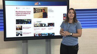 Confira as principais notíciais do G1 Alagoas nesta sexta-feira (18) - A repórter Carolina Sanches mostra os destaques do portal.
