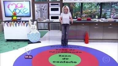 Aprenda a sair da zona de conforto - Especialista em desenvolvimento pessoal Paula Abreu dá dicas para que as pessoas passem para a zona de aprendizagem e cheguem à zona mágica