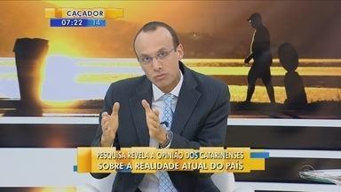 Renato Igor comenta sobre os maiores problemas atualmente no Brasil - Renato Igor comenta sobre os maiores problemas atualmente no Brasil