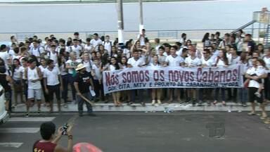 IHGTap comemora 4 anos e relembra chegada dos Cabanos a Santarém - Escritor Éfrem Galvão e poeta Ruy Barata foram homenageados.
