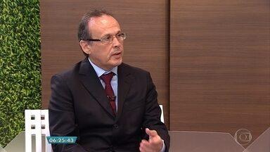 Superintendente da Receita Federal em Minas Gerais fala sobre declaração do IR 2016 - Entrevista ao vivo no estúdio com Hermano Machado.